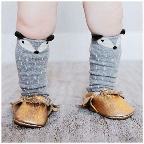 Korean Style Toddlers Kids Girls  Pattern For Age 1-4 Years Knee High Socks