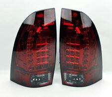 Toyota Tacoma 05-14 LED Rear Tail Lights Red Smoke Smoked Pair RH LH