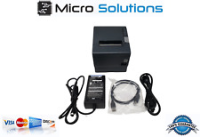 TM-T88V Epson M244A Receipt Printer RS232 w/ PS 180 Power Supply and USB cable