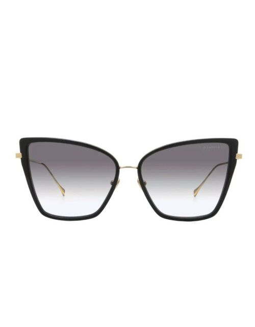 Dita Sunbird Sunglasses 21013A Black 18K Gold / Dark Grey Gradient AR Lens