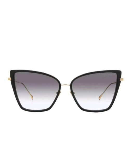 Dita Sunbird Sunglasses 21013A Black 18K Gold / Dark Grey Gradient AR Lens