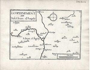 Antique-maps-Gouvernement-de-Sainct-Jean-d-039-Angely