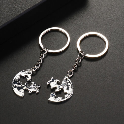 2pcs Turtle Couple Key Chains Souvenirs for Best Friend Keyring Ornaments CF