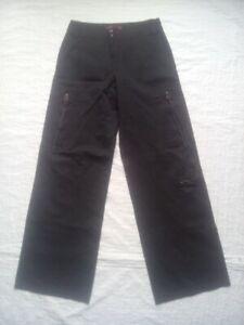 Pantalon-original-multi-poches-pour-Femme-taille-36