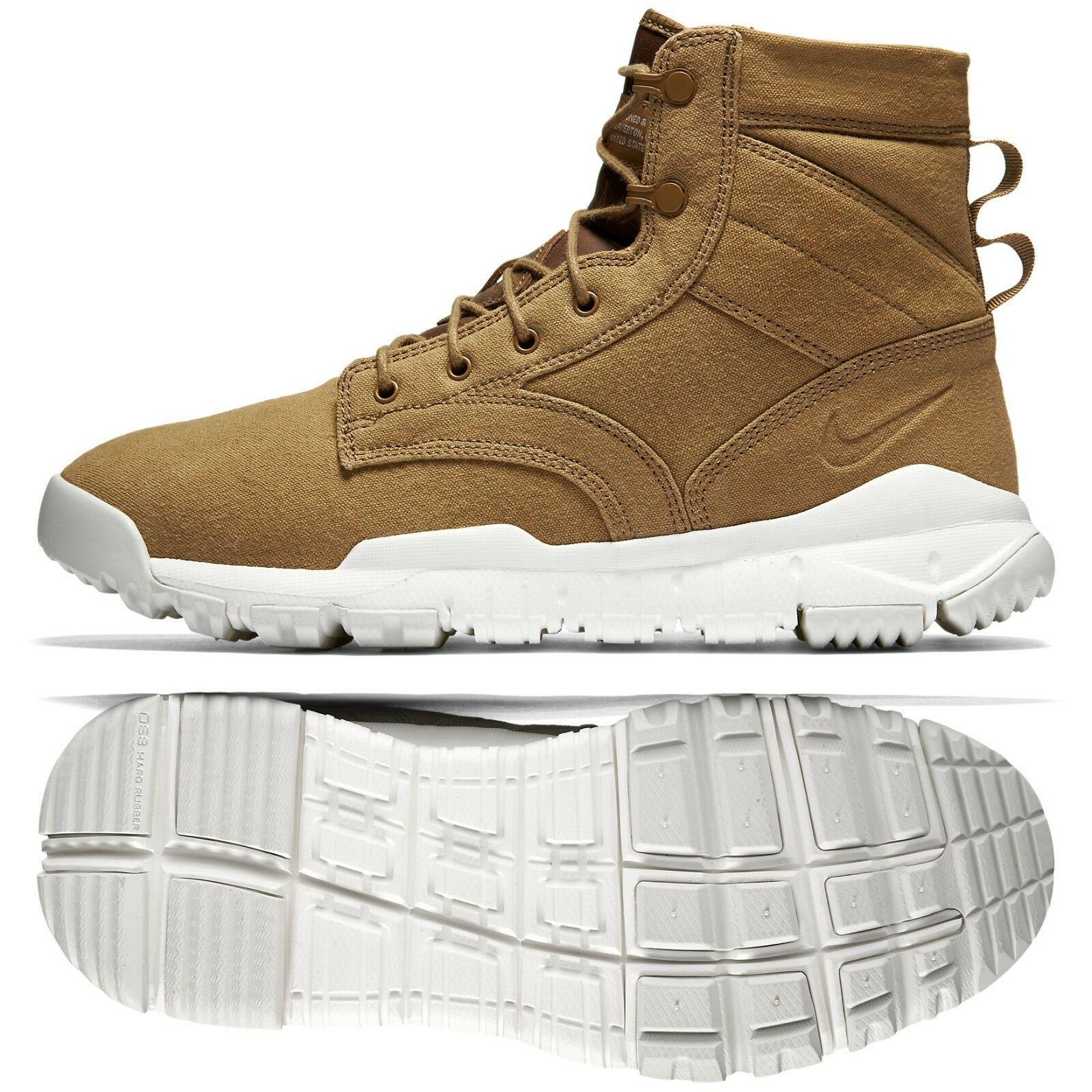 Nike SFB 6 NSW Canvas 844577-200 Golden Beige Men's Special Field Tactics Boots
