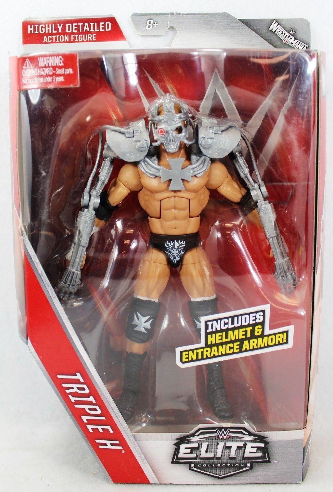 WWE TRIPLE H WRESTLEMANIA 42 ELITE Accessori serie Mattel Wrestling Figure