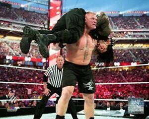"WWE Brock Lesnar WrestleMania 31 Action Photo (Size: 8"" x 10"")"