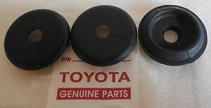 toyota land cruiser landcruiser firewall grommets 64 9 77 fj40 45 rh ebay com Wire Grommets Rubber Harness Aplications Harness with Automotive Grommet