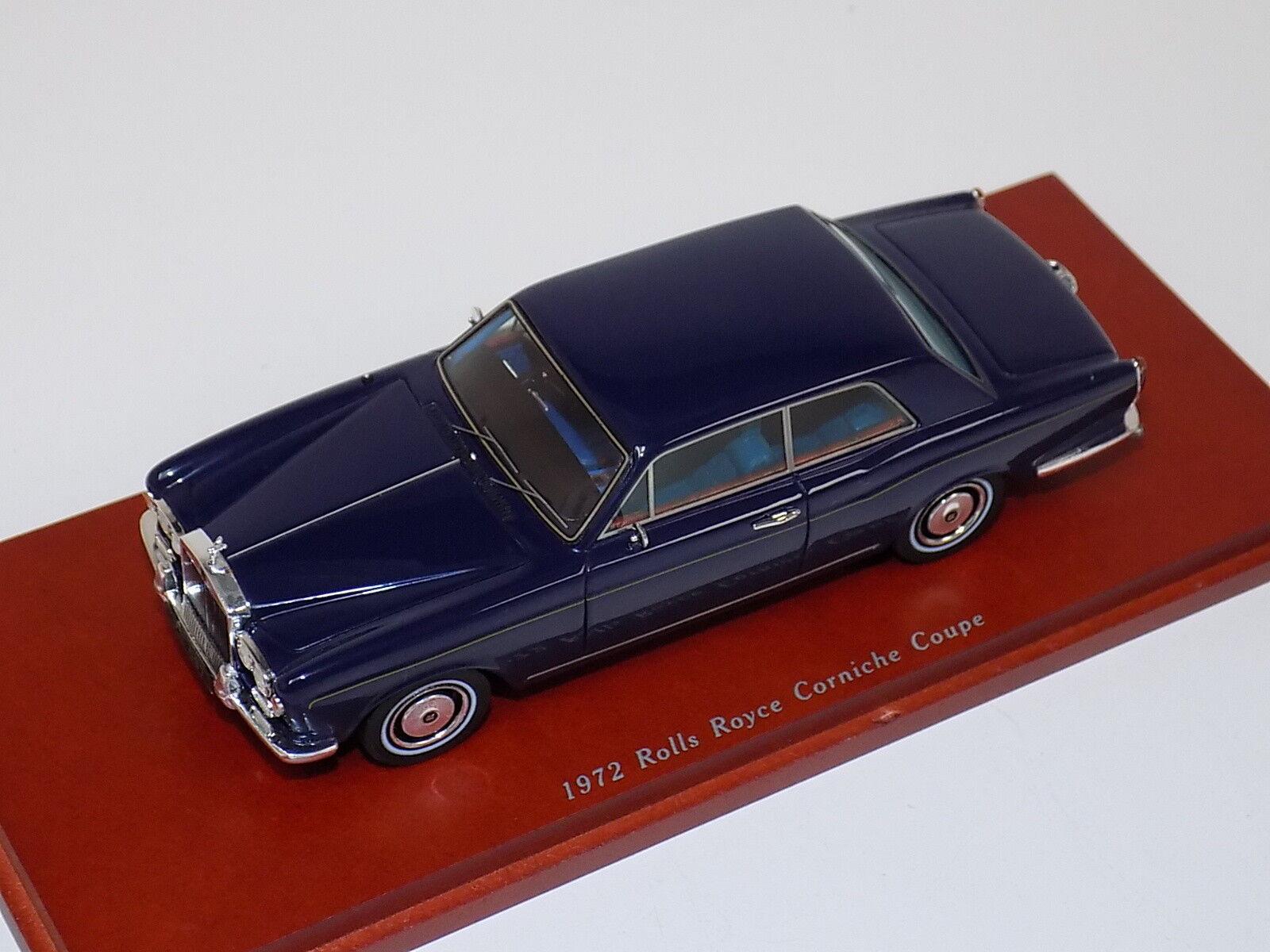 1 43 True Scale TSM 1972 Rolls Royce Corniche Coupe TSM114316
