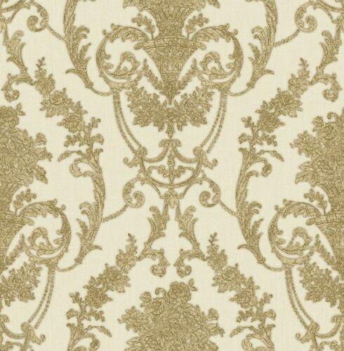 D/'ESSEN papier peint Italian Classic 22904 Ornement Baroque Vinyle nappes papier peint toile