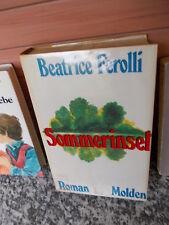 Sommerinsel, ein Roman von Beatrice Ferolli, aus dem Molden Verlag