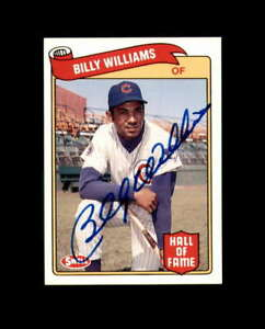 Billy-Williams-Hand-Signed-1989-Swell-Baseball-Greats-Chicago-Cubs-Autograph