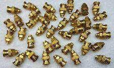 40 Sealectro 58 007 000 Vintage Gold Male Bnc Connectors 50 Ohm Rg316 Rare
