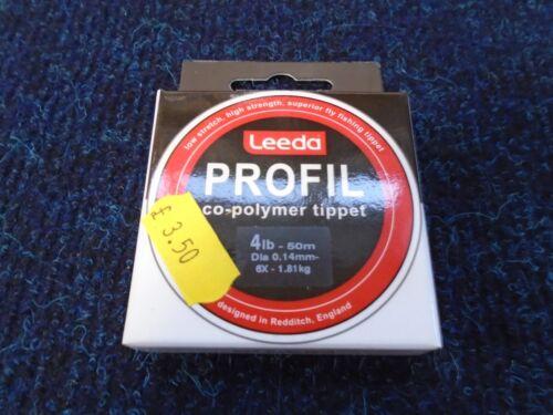 LEEDA PROFIL CO-POLYMER TIPPET 50M