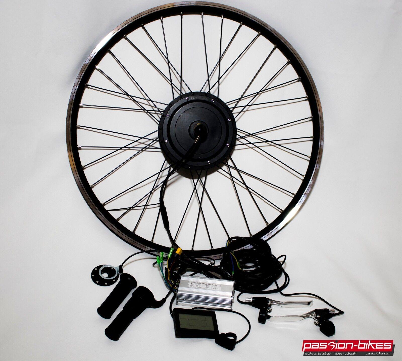 E-Bike Pedelec Front Wheel Conversion Kit Kit 500 Watt Front Motor 28 kt3 Display