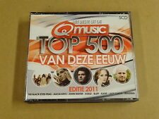 5-CD BOX Q-MUSIC / HET BESTE UIT DE TOP 500 VAN DEZE EEUW - EDITIE 2011