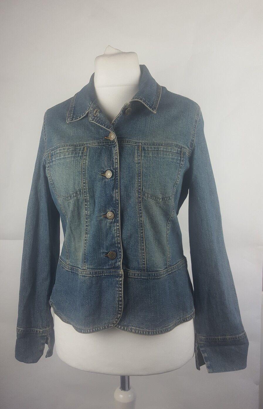 980c1f2bd91f Femmes Denim Veste Marks Spencer Mix Taille Bleu amp  Jeans qwCHxt4H