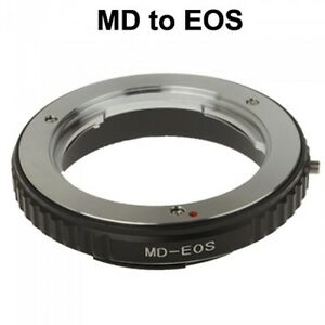 Minolta-MD-MC-Mount-Lens-to-Canon-EOS-Kamera-Adapter-UK-Verkaeufer