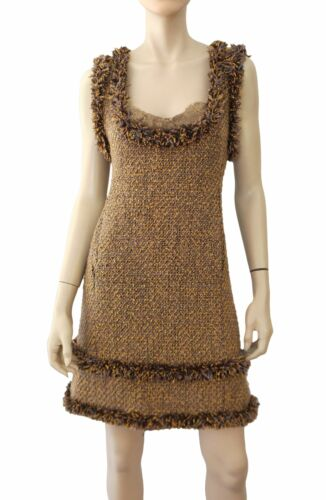 ROBERTO DE VILAS Multicolor Wool Tweed Fringed Min