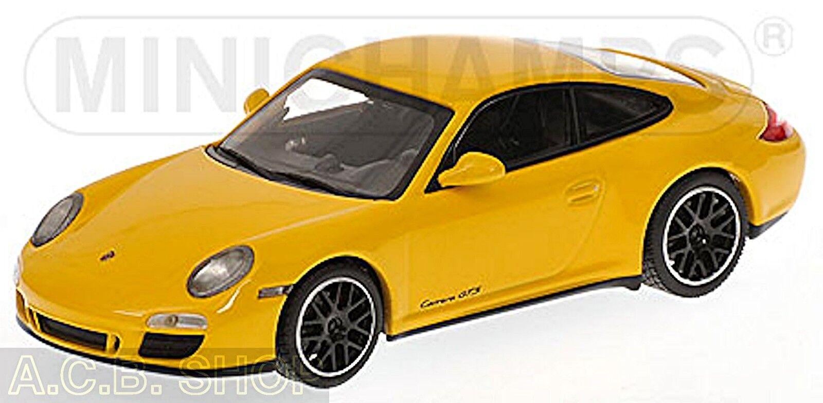 Porsche 911 GTS 997 II 2011 yellow 1 43 Minichamps