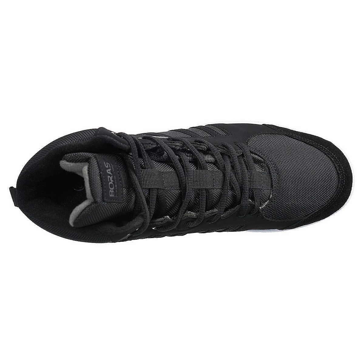 Boras radical MID Chaussures Hommes Hi-top taille Baskets, Chaussures de sport, taille Hi-top 42, noir 36430c