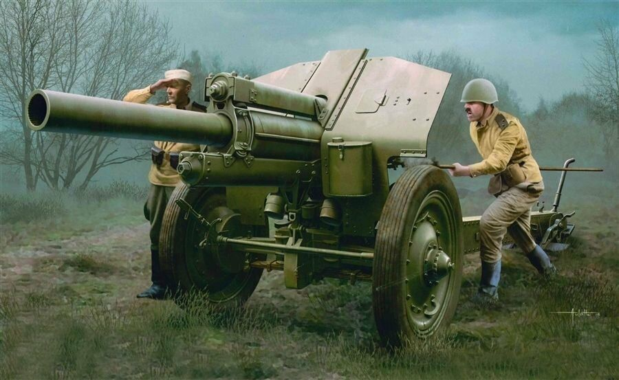 Trumpeter 02344 1 35 Soviet 122mm Howitzer 1938 M-30 Late Version