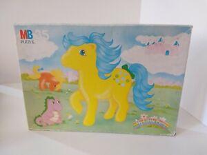 My-Little-Pony-G1-1985-Bubbles-MB-Jigsaw-Puzzle-100-Complete-35pcs