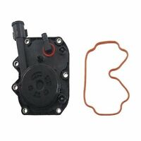 Crankcase Vent Valve Intake Manifold Cover + Gasket Kit For Bmw 5 7 8 Series on Sale