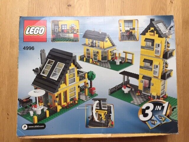 LEGO Creator Beach House (4996) used in excellent condition