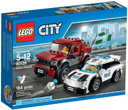 LEGO City Police 60128  Police Pursuit Mixed Set Box Sealed  60128  prendre jusqu'à 70% de réduction