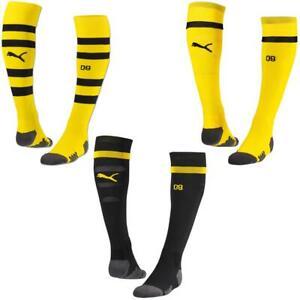 Puma-BVB-Borussia-Dortmund-Stutzen-Sockenstutzen-Socken-Fussballsocken