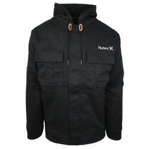 Hurley-Men-039-s-Black-Surge-Jacket-Retail-160