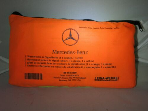 cadeau LEINA d/'origine Mercedes-Benz orange et jaune 2er Set réfléchissants