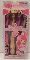 Strawberry Shortcake 4 Pack Kids Suction Cup Toothbrushes Soft Scented