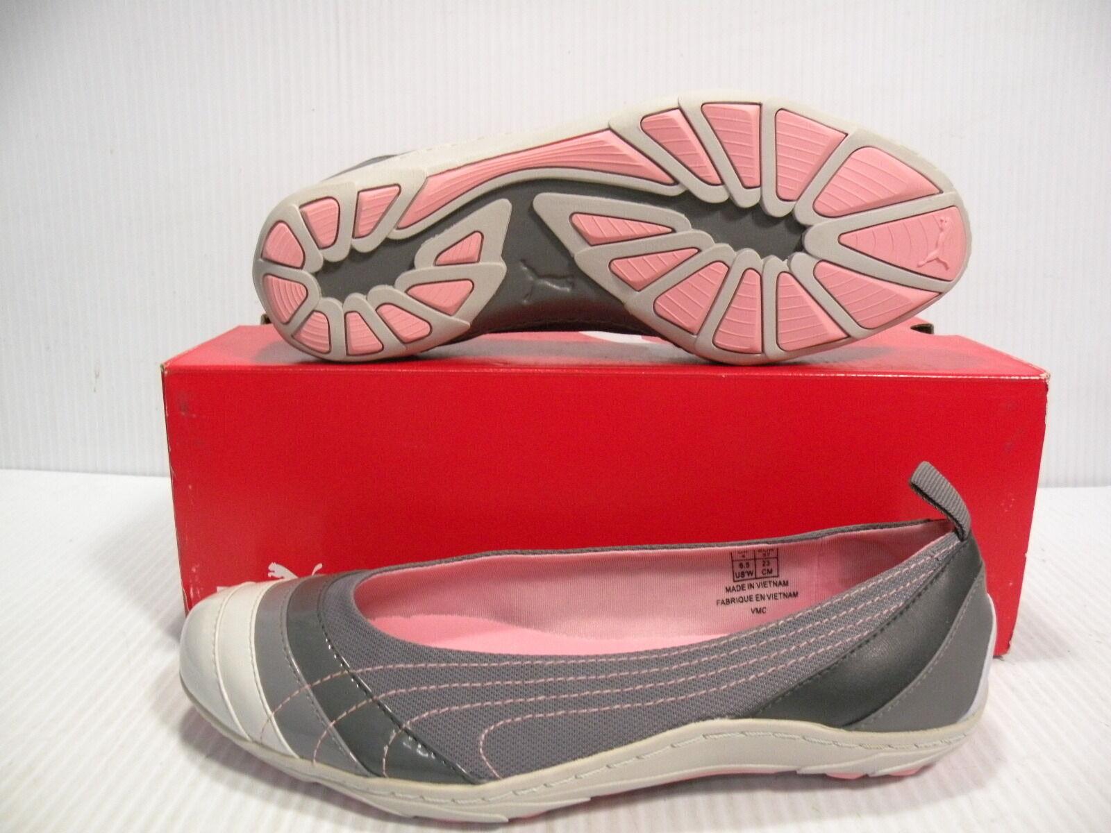 Puma ginza dori basso scarpe le donne scarpe grigio / dimensioni bianco 344012-03 9,5 nuove dimensioni / c8f7c6