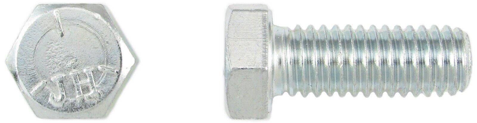 Sechskantschraube 7 16-14 UNC x 7 8 Grade 5 verzinkt - Hex Head Cap Screw (FT)