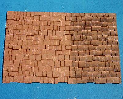 SHAKE SHINGLES O On30 Model Railroad Structure Laser Cut Paper Detail RSL1920