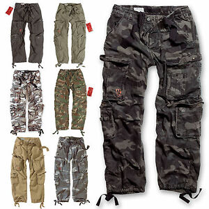 SURPLUS-CARGO-HOSE-AIRBORNE-VINTAGE-Trousers-Streetwear-Pants-US-Army-Forces
