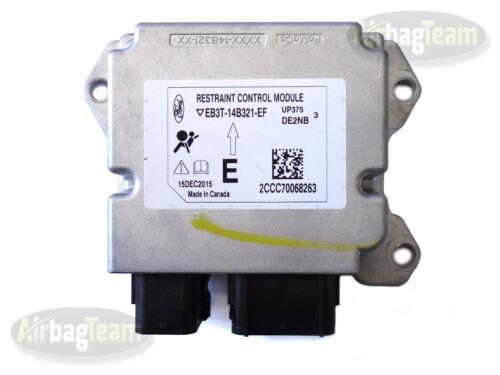 Ford Ranger Airbag ECU Control Module EB3T14B321EF No Crash Data
