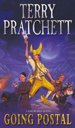 1 of 1 - Going Postal: A Discworld Novel by Terry Pratchett 0552149438 The Cheap Fast