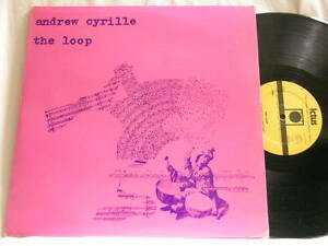 Details about ANDREW CYRILLE The Loop Ictus 0009 ITALY LP solo free jazz  drums percussion