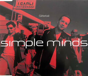 Simple Minds Maxi CD Glitterball - Promo - Europe (EX+/EX+)