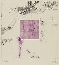THOMAS RANFT - Orbis  - Farbradierung 1979