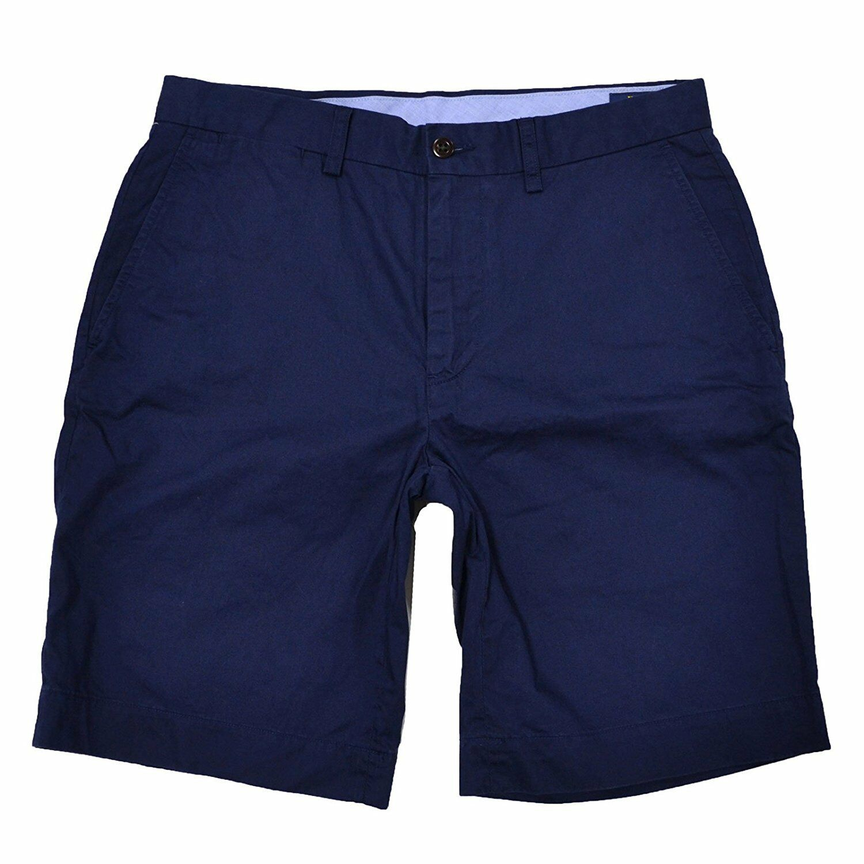 Polo Ralph Lauren Mens Classic Fit Flat Front Casual Shorts NEWPORT NAVY 42