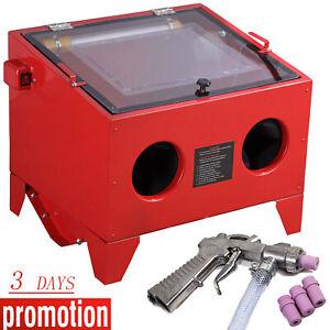 Sandblaster-Sand-Blaster-Blasting-Blast-SandBlasting-Bead-Cabinet-90L-with-LED