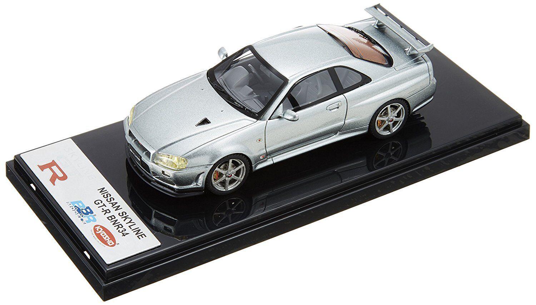 Kyosho Original 1 43 Nissan Skyline GT-R V-SPEC II BNR34 Plata