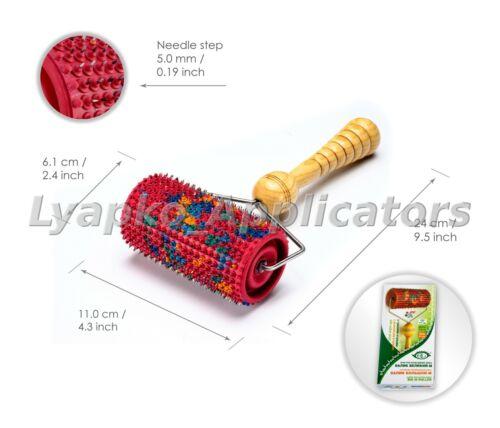 5.0 Ляпко Acupuncture Body Massager Acupressure Applicator Lyapko Groß Roller