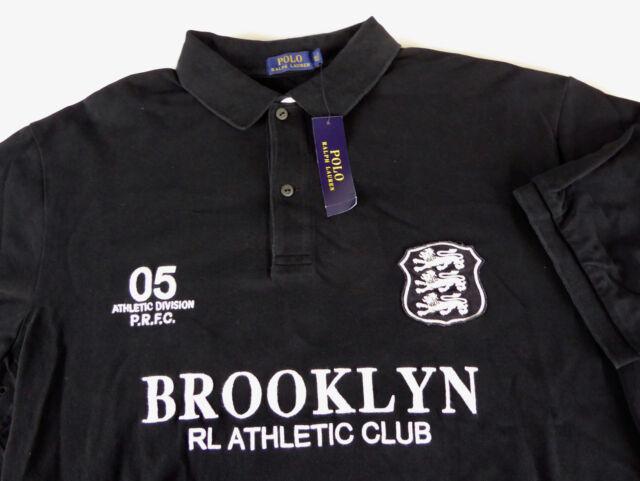 Polo Ralph Lauren RL Athletic Club Mens Shirt 2xlt Tall M Brooklyn ... fd06dcb0c0