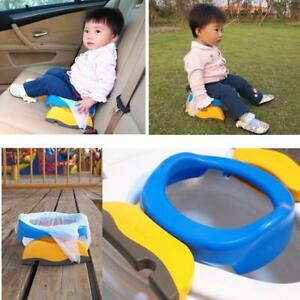 Baby Travel Potty Seat 2 In1 Portable Toilet Seat Kids Comfortable