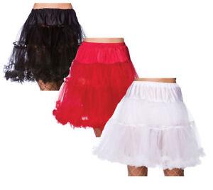 18-034-FRUNCIDO-Cancan-Disfraz-Mujer-Accesorio-Enaguas-talla-unica